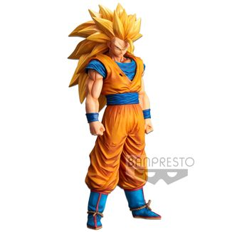 Son Goku SSJ3 Figure Dragon Ball Z Grandista Nero