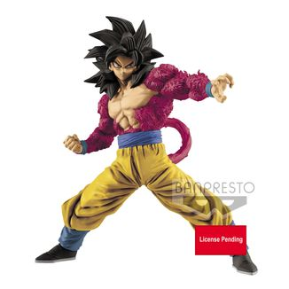 Son Goku SSJ4 Figure Dragon Ball GT Full Scratch