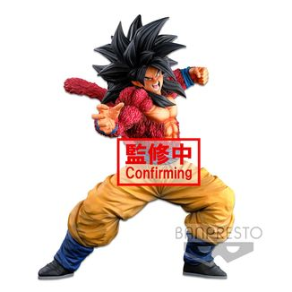 Figura Son Goku SSJ4 Dragon Ball GT Super Master Stars Piece BWFC