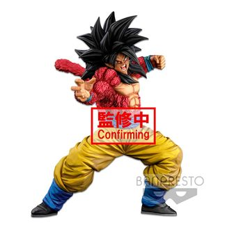 Figura Son Goku SSJ4 Two Dimensions Dragon Ball GT Super Master Stars Piece BWFC