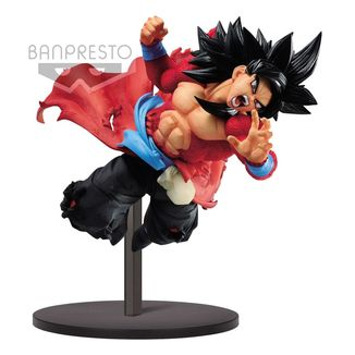 Figura Son Goku SSJ4 Xeno 9th Anniversary Super Dragon Ball Heroes