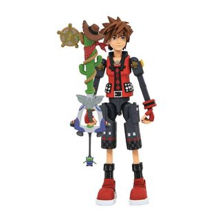 Figura Sora Valor Form Toy Story Kingdom Hearts 3 Select