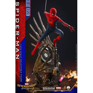 Figura Spider-Man Deluxe Quarter Scale Series Spider-Man Homecoming
