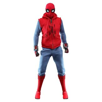 Figura Spider-Man Homemade Suit Spider-Man Lejos de Casa Marvel Comics Movie Masterpiece