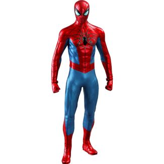 Figura Spider Man Spider Armor MK IV Suit Marvel's Spider Man Video Game Masterpiece