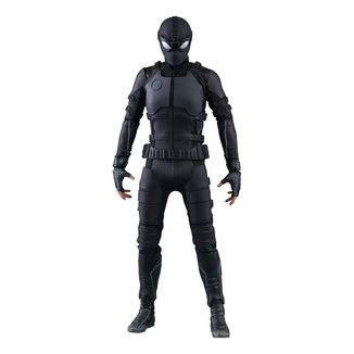 Figura Spider-Man Stealth Suit Spider-Man Lejos de Casa Marvel Comics Movie Masterpiece