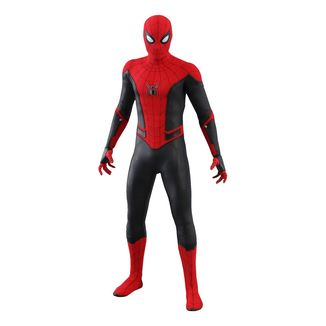 Spider-Man Upgraded Suit Figure Spider-Man Far from Home Marvel Comics Movie Masterpiece
