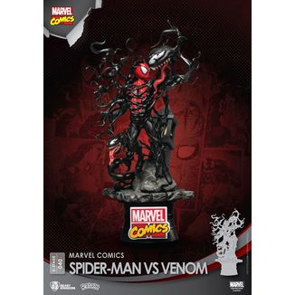 Figura Spider Man vs Venom Marvel Comics D-Stage