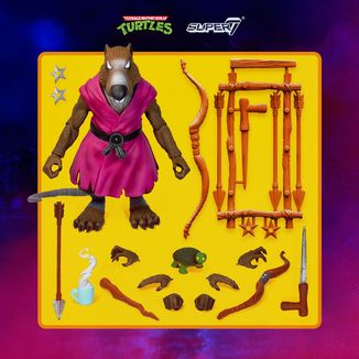 Figura Splinter Tortugas Ninja Ultimates