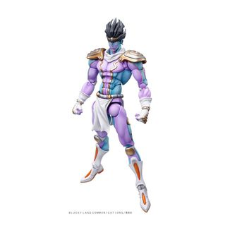 Star Platinum Figure Jojo's Bizarre Adventure Super Action Chozokado