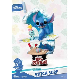 Stitch Surf Figure Disney Summer Series D-Stage