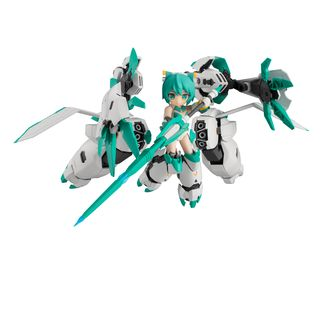 Sylphy II Ganesha Armor Figure Alice Gear Aegis Desktop Army