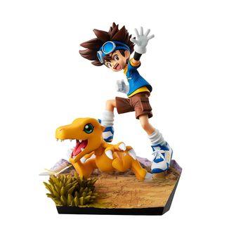Figura Taichi Yagami & Agumon 20th Anniversary Digimon Adventure G.E.M.