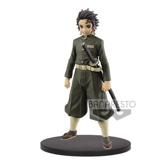 Tanjiro Kamado Hunter Uniform Sepia Color Figure Kimetsu no Yaiba Kizuna no Sou Vol 7