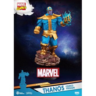 Figura Thanos D-Stage Marvel Comics