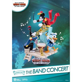 The Band Concert Mickey Mouse Figure Disney D-Stage