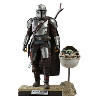 Figura The Mandalorian & The Child Deluxe Star Wars The Mandalorian
