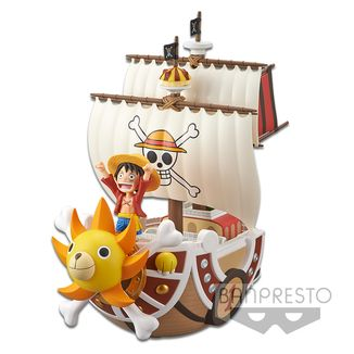 Figura Thousand Sunny One Piece MEGA WCF