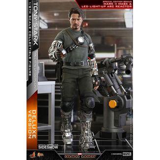 Figura Tony Stark Mech Test Deluxe Version Iron Man Marvel Comics Movie Masterpiece
