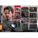 Tony Stark Mech Test Deluxe Version Figure Iron Man Marvel Comics Movie Masterpiece