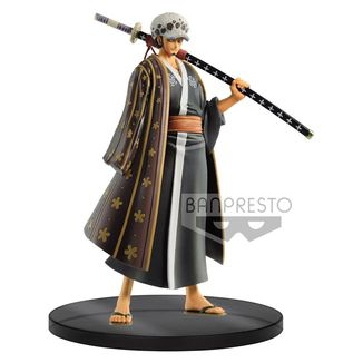 Figura Trafalgar Law Wanokuni Vol 3 One Piece DXF Grandline Men