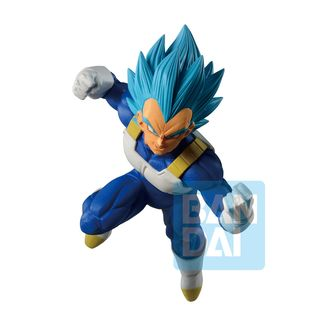 Vegeta SSGSS Figure Dragon Ball Dokkan Battle Ichibansho