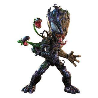 Venomized Groot Figure Marvel Spiderman Maximum Venom Artist Collection