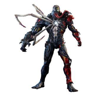 Venomized Iron Man Figure Marvel Spider Man Maximum Venom Artist Collection