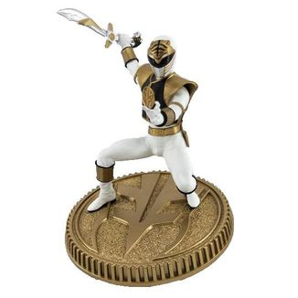 Figura White Ranger Mighty Morphin Power Rangers
