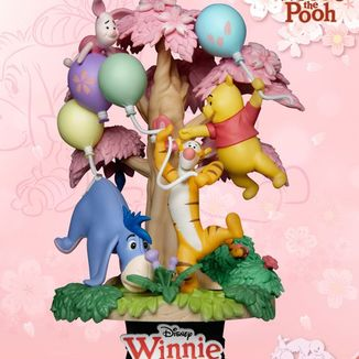 Winnie the Pooh Cherry Blossom Figure Disney D-Stage