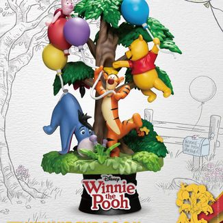 Winnie The Pooh with Friends Figure Disney D-Stage