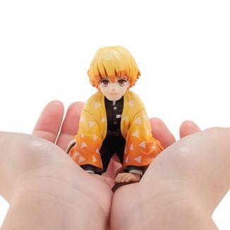 Figura Zenitsu Kimetsu no Yaiba G.E.M Palm Size Edition Deluxe
