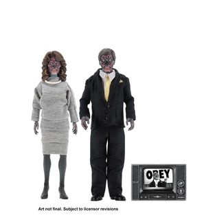 Figura Aliens They Live Retro Pack