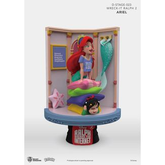 Figura Ariel & Vanellope Ralph Breaks the Internet D-Stage