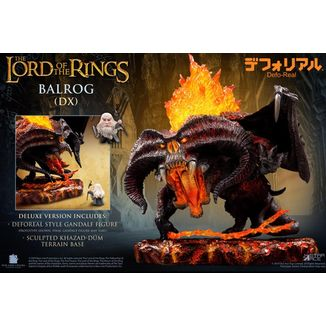 Balrog Deluxe Version Figure The Lord of the Rings Defo-Real Series