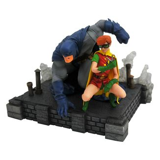 Figura Batman & Robin The Dark Knight Returns DC Comic Gallery
