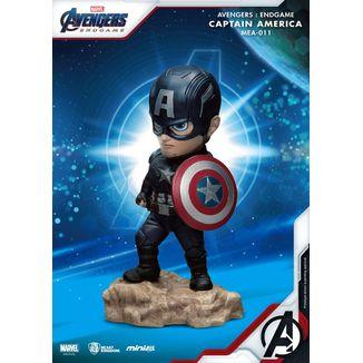 Figura Captain America Vengadores Endgame Mini Egg Attack