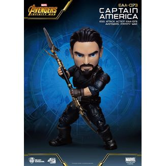 Captain America Figure Avengers Infinity War Egg Attack