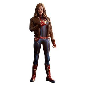 Figura Captain Marvel Deluxe ver Marvel Comics Movie Masterpiece