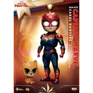 Captain Marvel Figure Marvel Comics Egg Attack