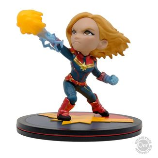 Captain Marvel Figure Marvel Comics Q-Fig
