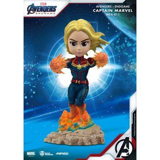 Figura Captain Marvel Vengadores Endgame Mini Egg Attack