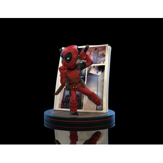 Figura Deadpool 4D Marvel Comics Q-Fig