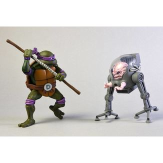 Figura Donatello vs Krang in Bubble Walker Teenage Mutant Ninja Turtles
