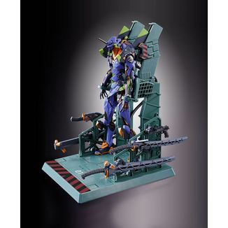 Figura EVA-01 Test Type Neon Genesis Evangelion Metal Build