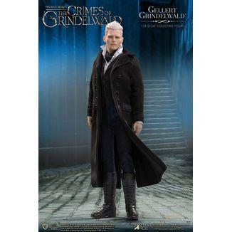 Figura Gellert Grindelwald Animales Fantasticos 2 Real Master Series