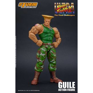 Guile Figure Ultra Street Fighter II The Final Challengers
