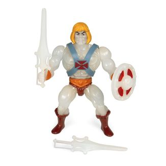 He-Man Glow-in-the-Dark Figure Masters of the Universe Vintage Collection Wave 4