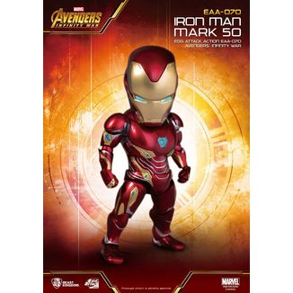 Iron Man Mark 50 Figure Avengers Infinity War Egg Attack