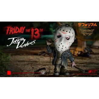 Figura Jason Voorhees Deluxe Version Viernes 13 Defo-Real
